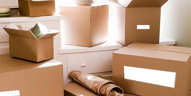 etiquetar cajas en las mudanzas